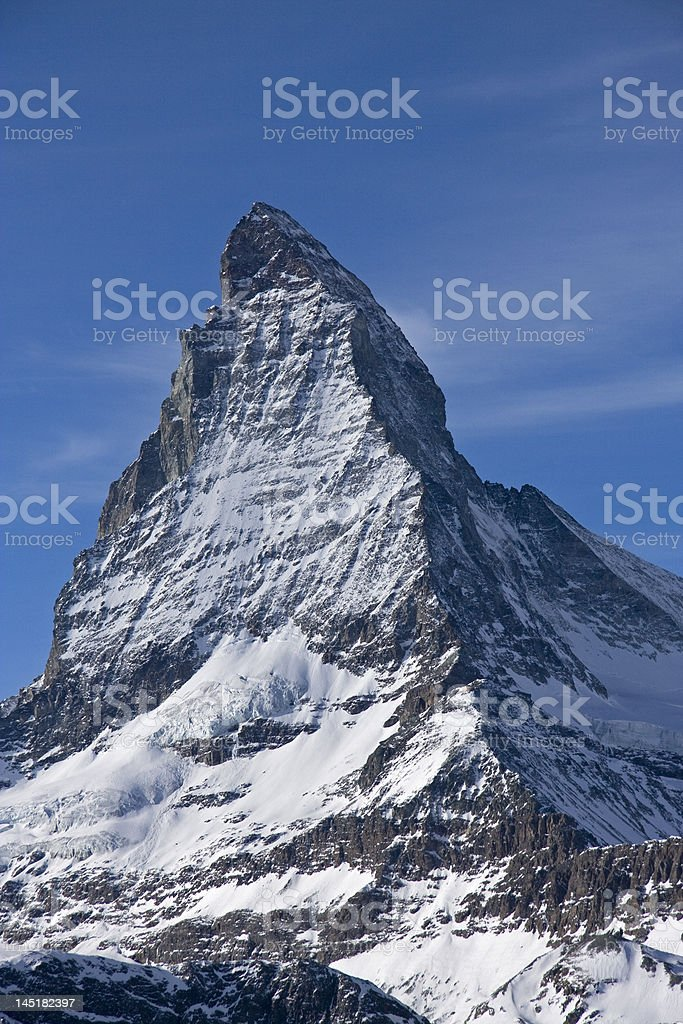 Matterhorn - Cervino royalty-free stock photo