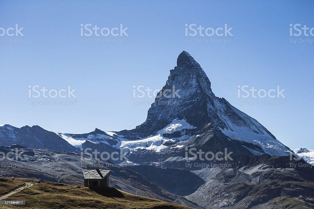 Matterhorn Chapel stock photo
