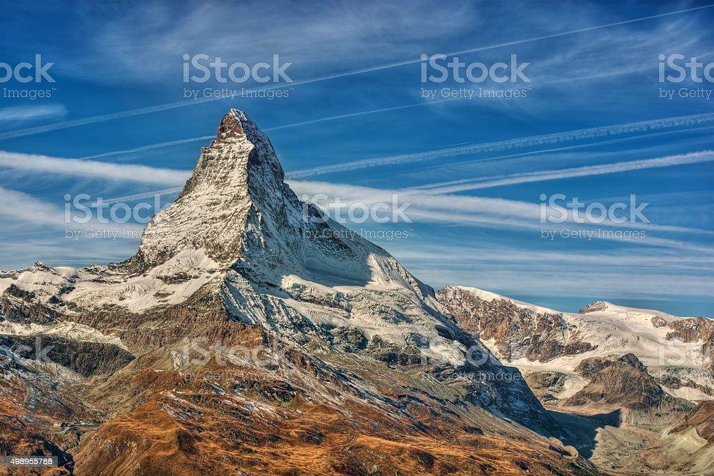 Matterhorn HDR stock photo
