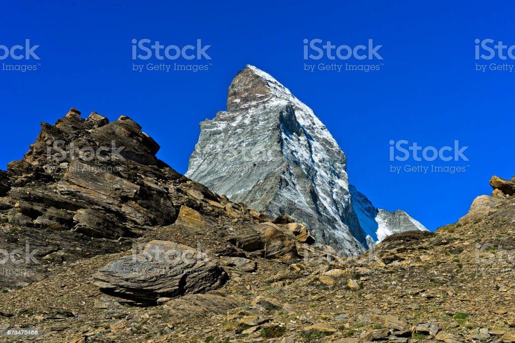 Matterhorn peak stock photo