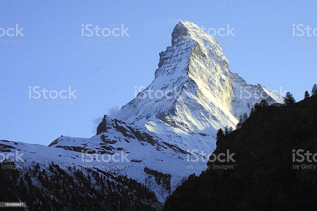 matterhorn royalty-free stock photo