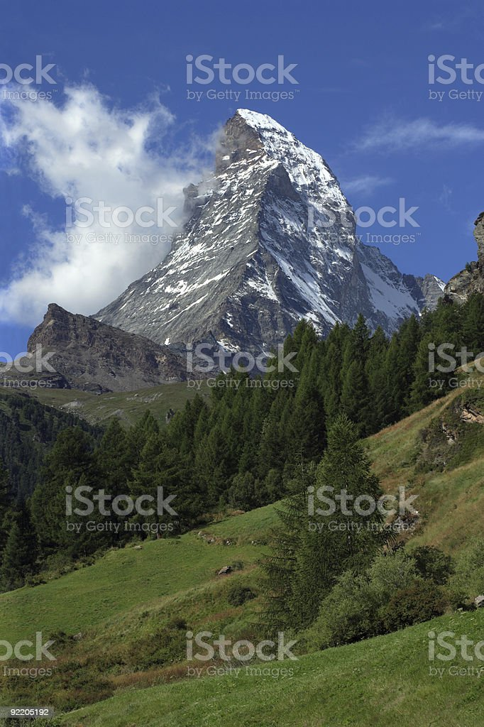 Matterhorn royalty-free stock photo