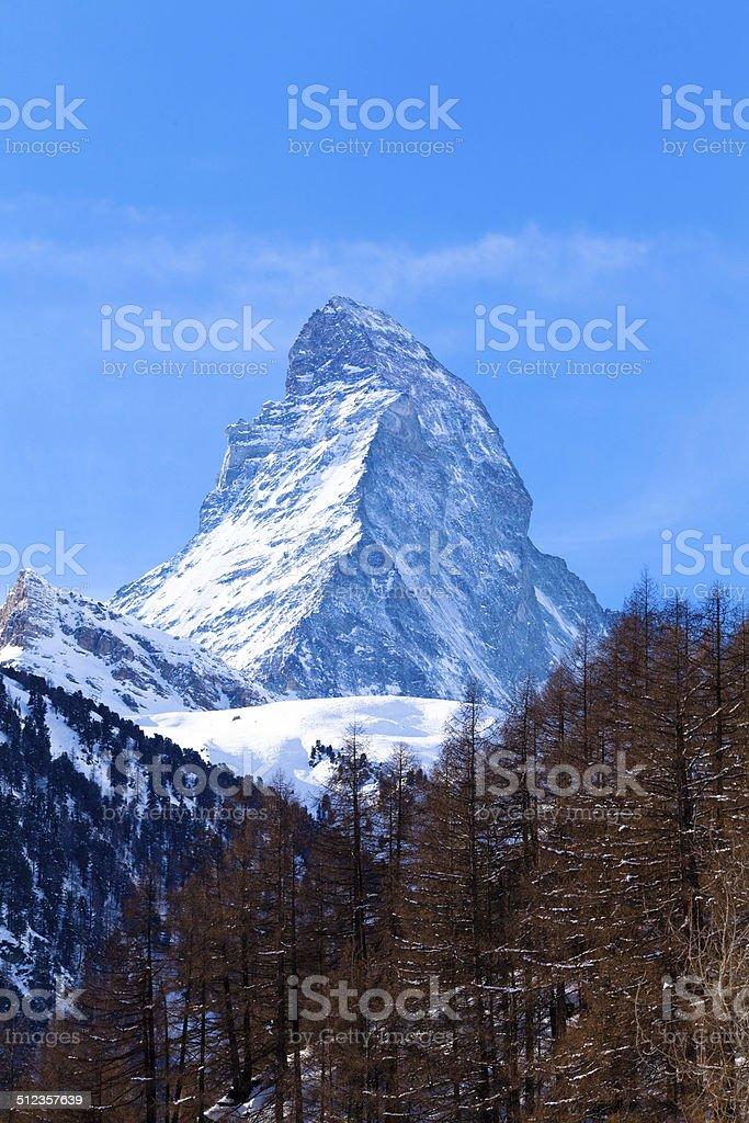 Matterhorn , Swiss Alps stock photo