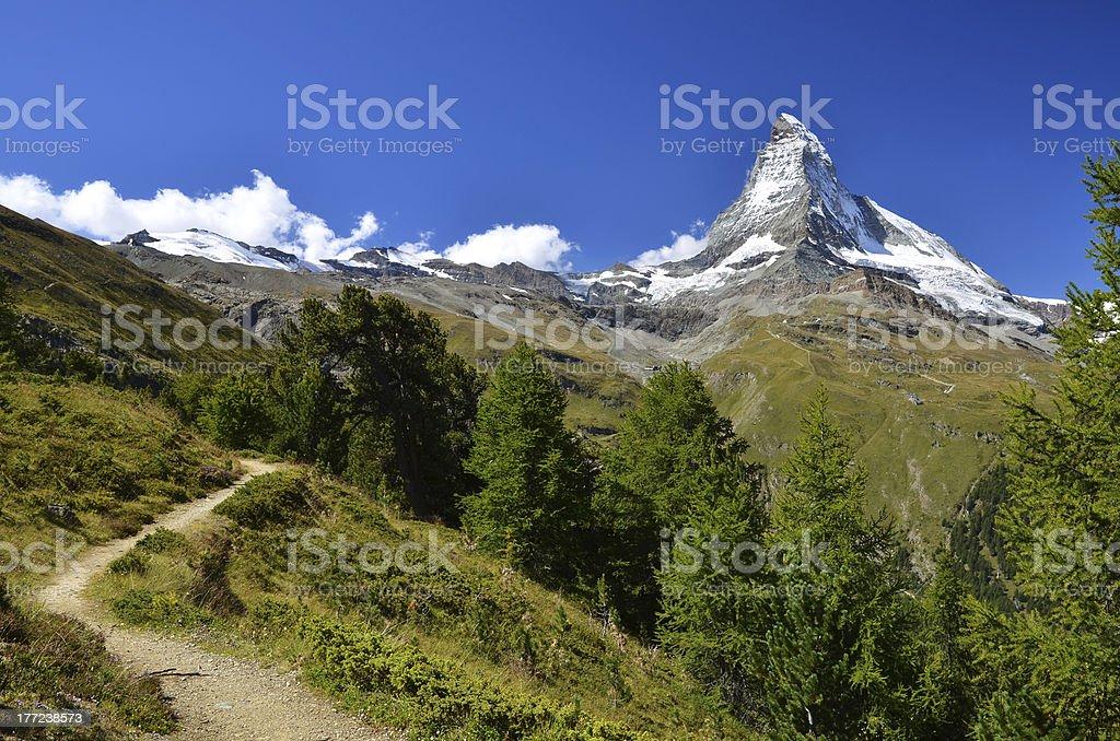 'Matterhorn (Monte Cervino), Switzerland' stock photo