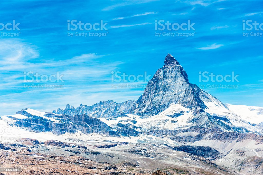 Matterhorn, Switzerland stock photo