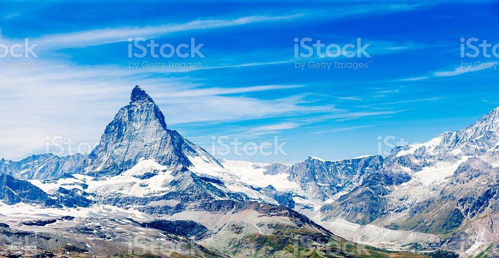 Matterhorn, Switzerland stock photo