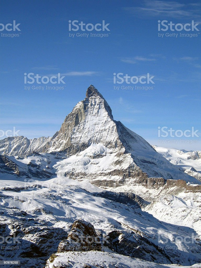 Matterhorn - Switzerland royalty-free stock photo