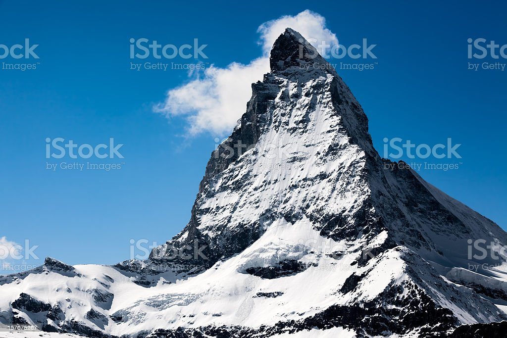 Matterhorn, sch?nster Berg der Alpen royalty-free stock photo
