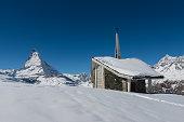Matterhorn with chapel