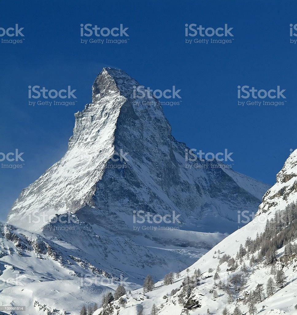 Matterhorn, Zermatt, Switzerland royalty-free stock photo