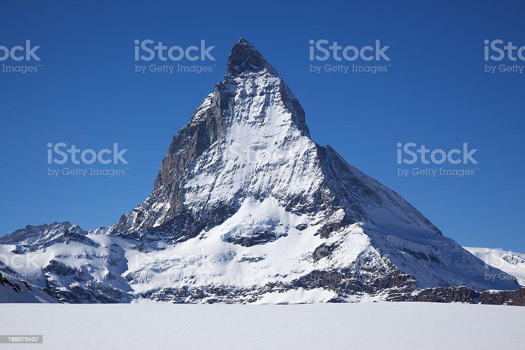 Matternhorn royalty-free stock photo