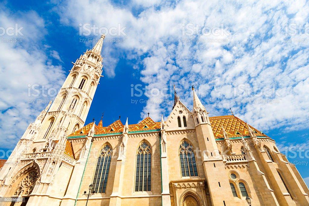 Matthias Cathedral stock photo