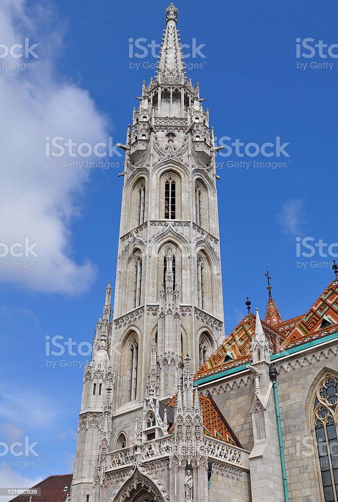 Matthias church in Budapest,Hungary royalty-free stock photo