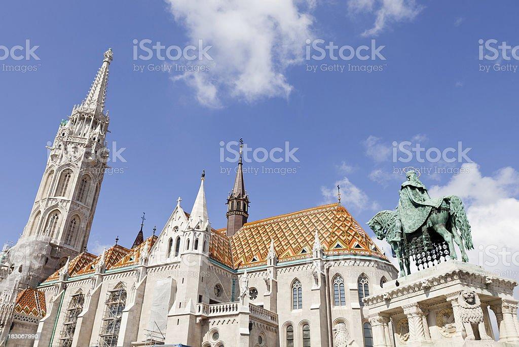 Matthias Church royalty-free stock photo