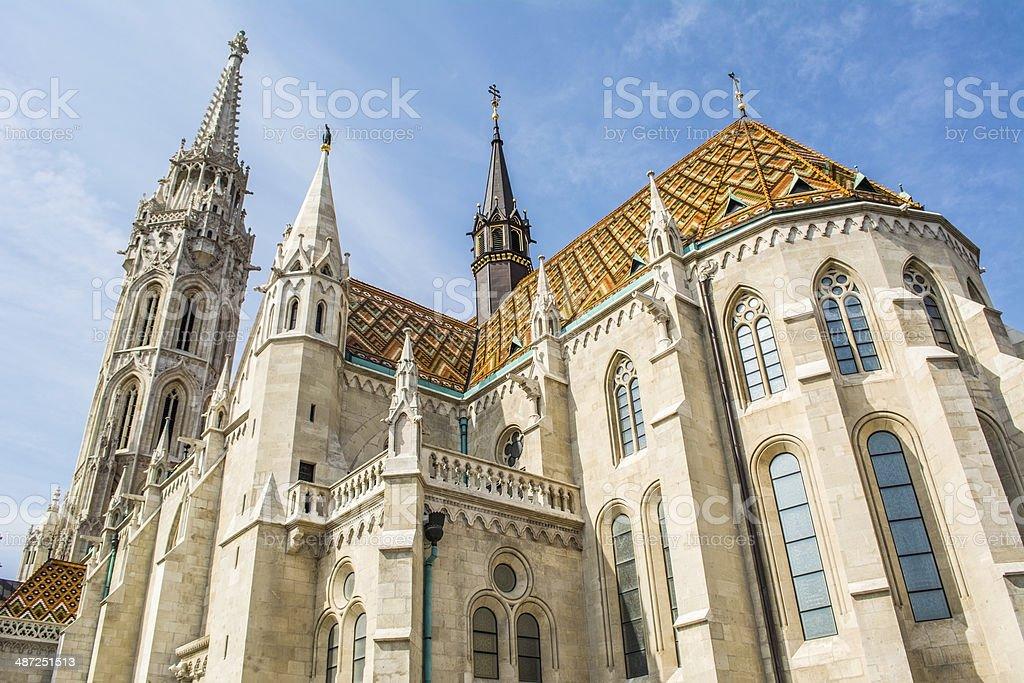 Matthias church stock photo