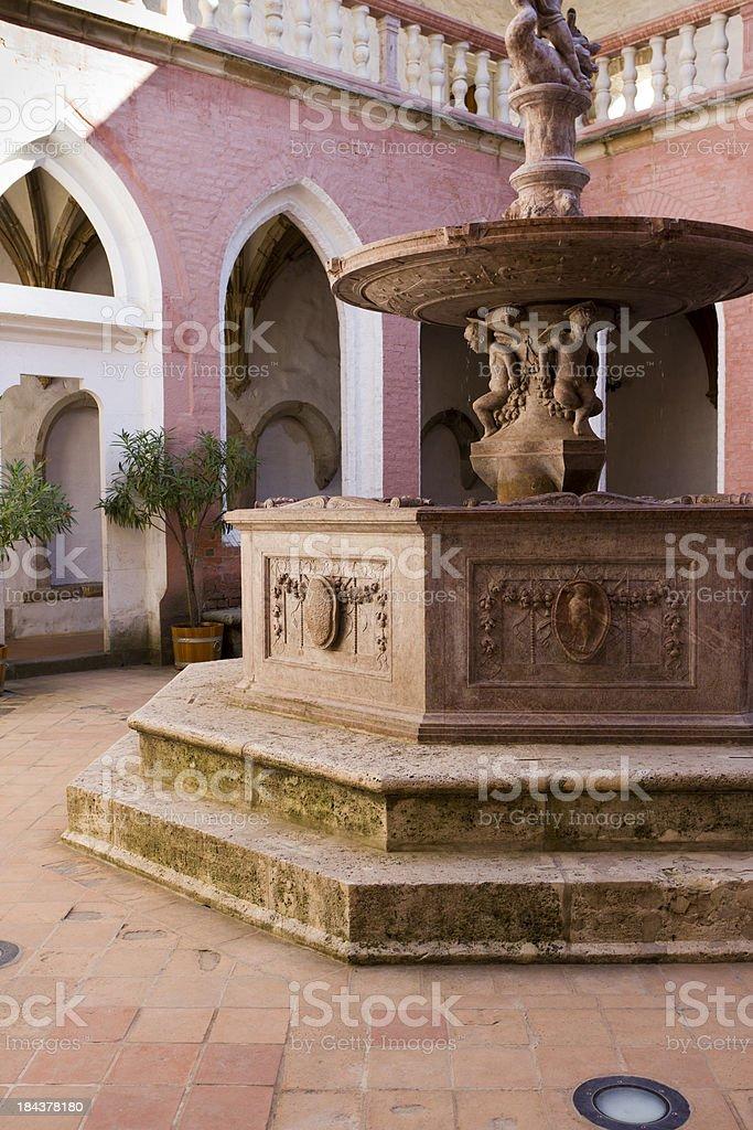 Matthias fountain stock photo