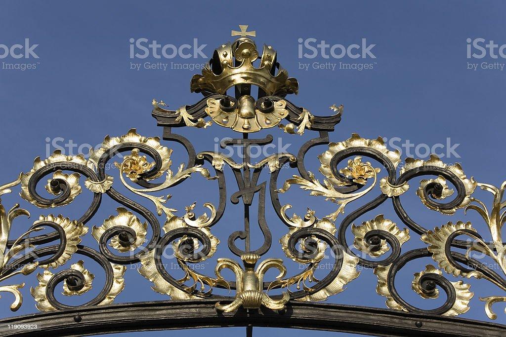 Matthias Gate stock photo