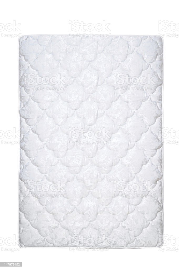 mattress isolated on the white stock photo