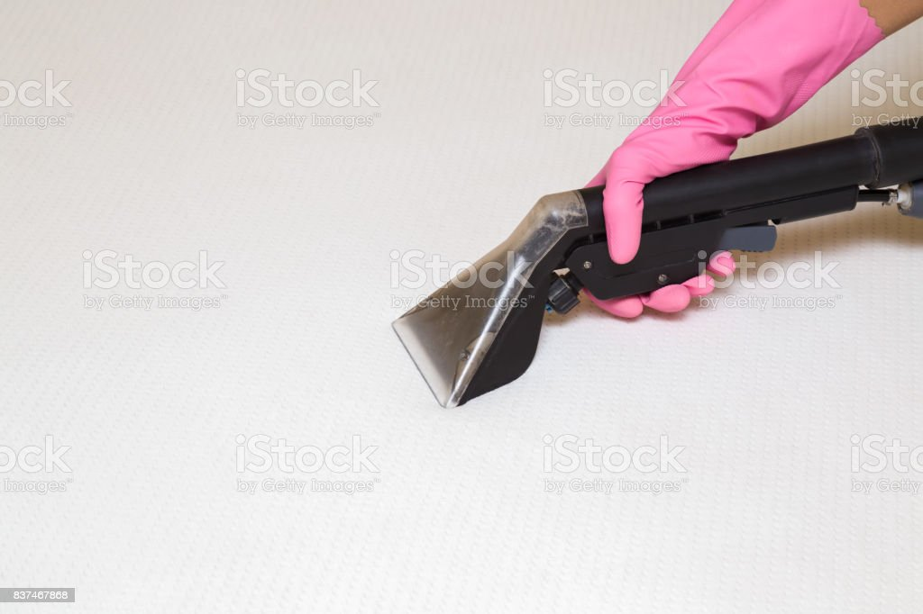 Mattress or bed chemical cleaning with professionally extraction...