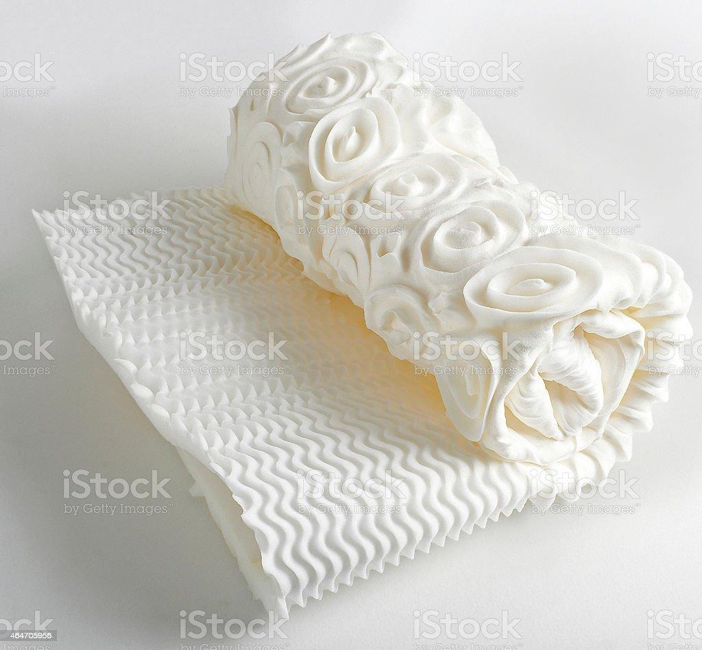mattress sleeping memory foam stock photo
