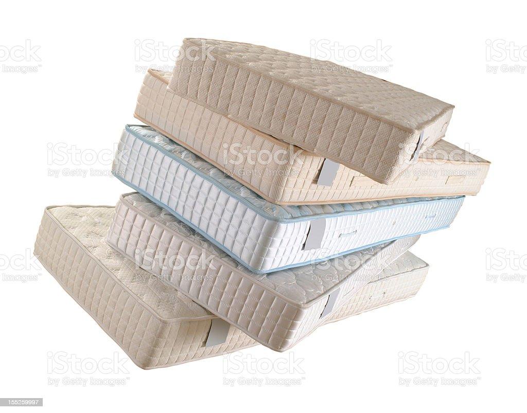mattresses stock photo