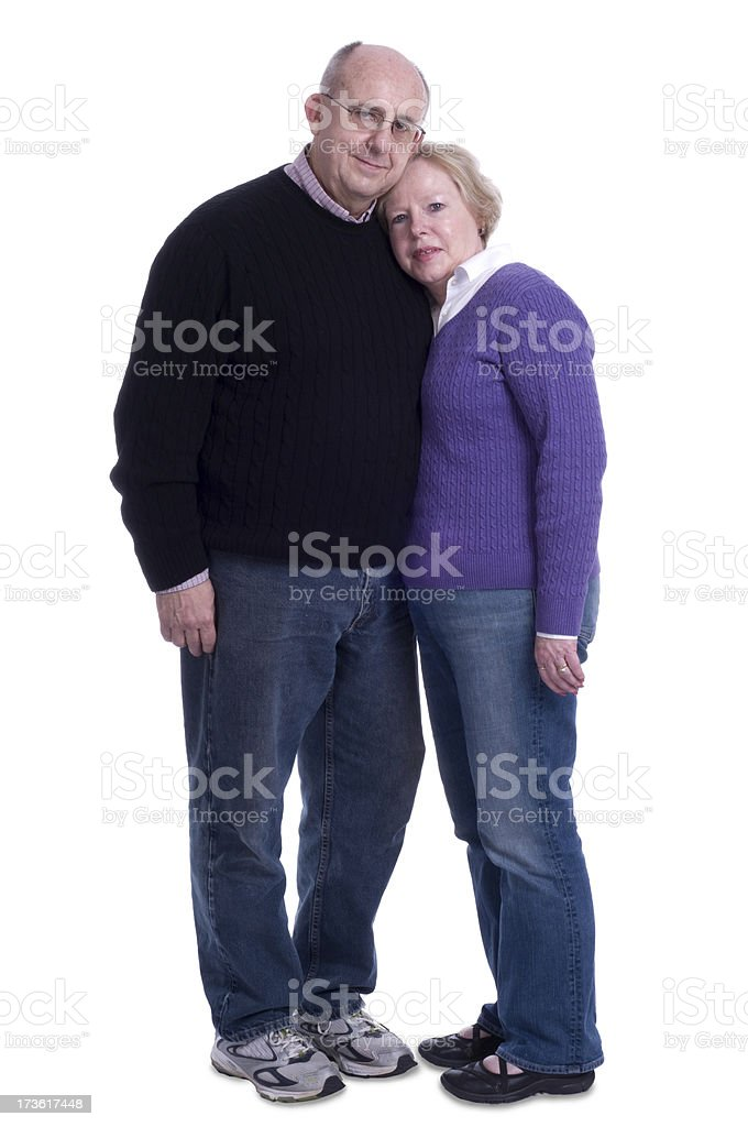 Mature Adult Couple royalty-free stock photo