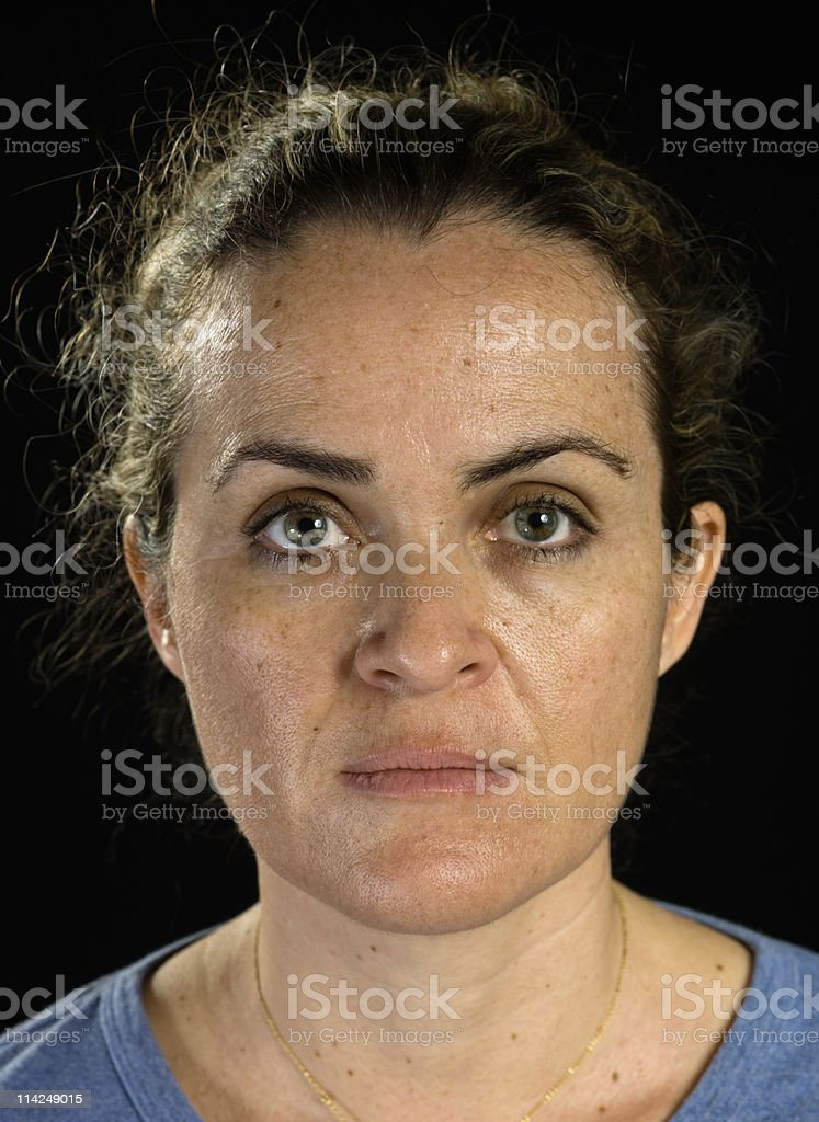 Mature Adult Woman royalty-free stock photo
