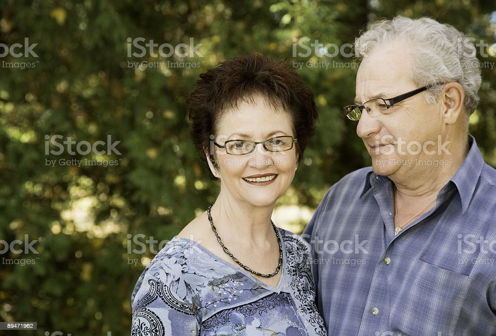 Mature Adults royalty-free stock photo
