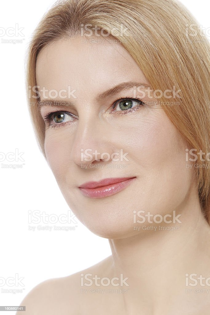 Mature beauty royalty-free stock photo