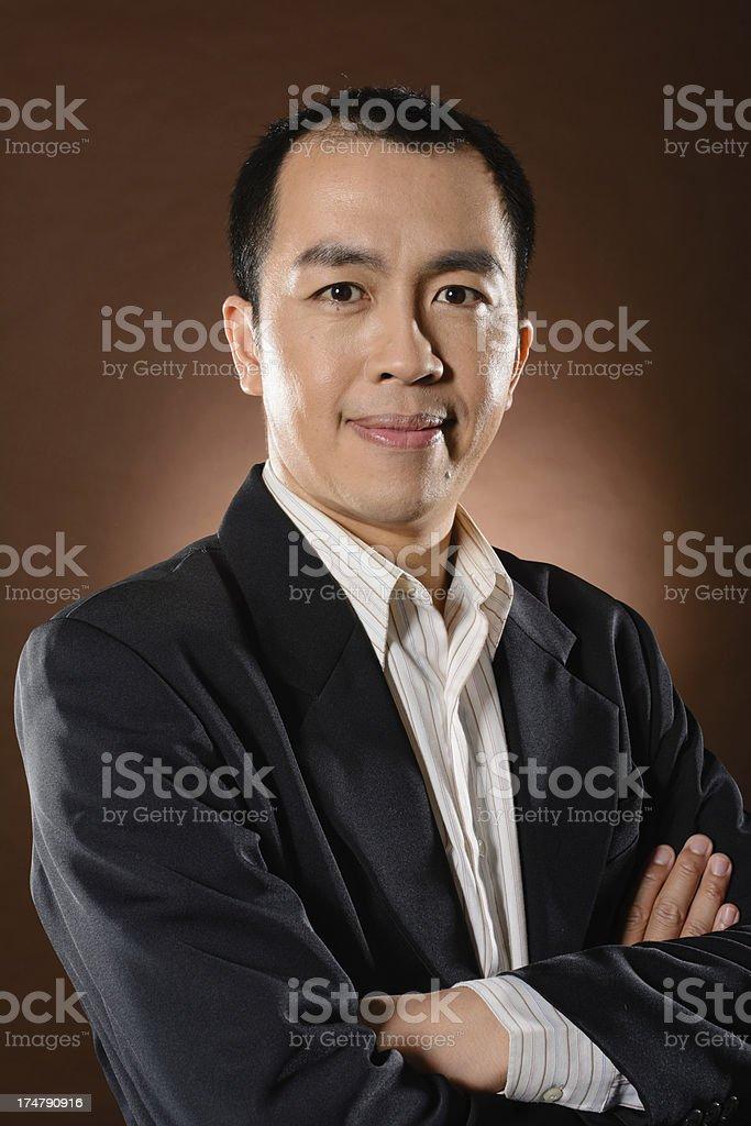 mature business man royalty-free stock photo