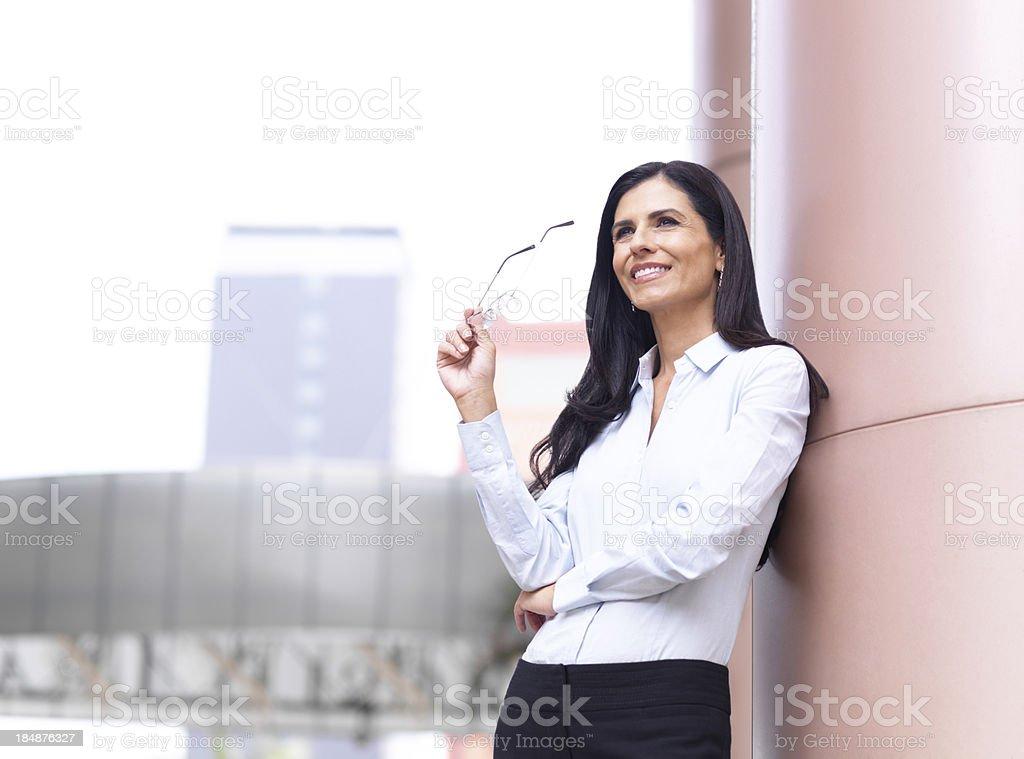 Mature business woman royalty-free stock photo