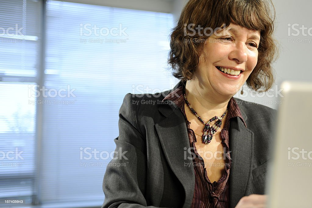 mature business women royalty-free stock photo