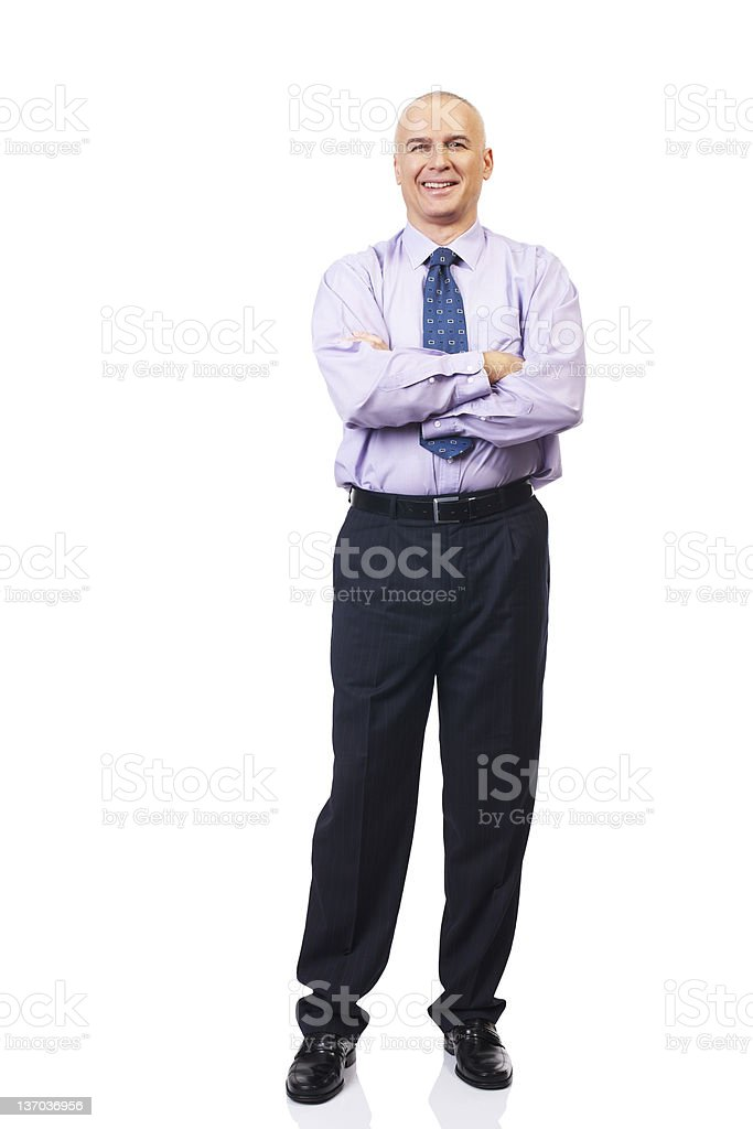 mature businessman royalty-free stock photo