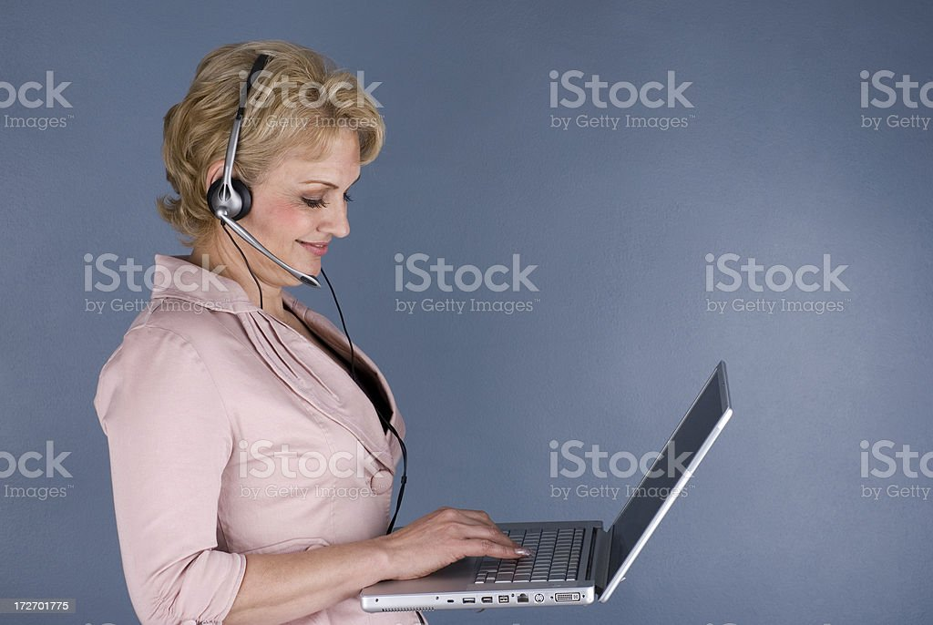 Mature businesswoman 4 royalty-free stock photo