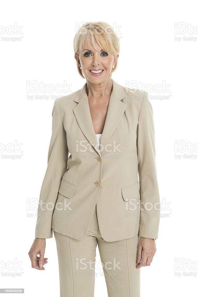 Mature Businesswoman - Portrait royalty-free stock photo