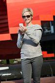 Mature Businesswoman Using Smartphone