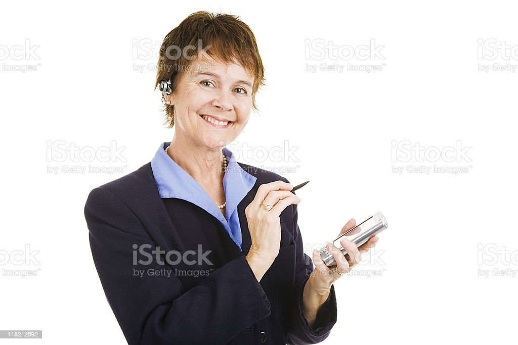 Mature Competent Businesswoman royalty-free stock photo