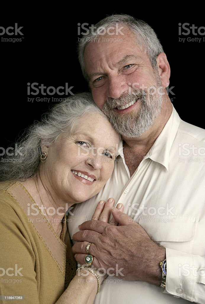 Mature Couple Happy Together royalty-free stock photo