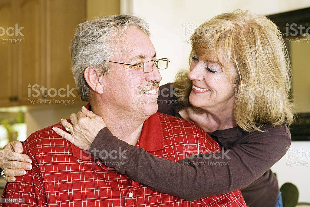 Mature Couple In Love royalty-free stock photo