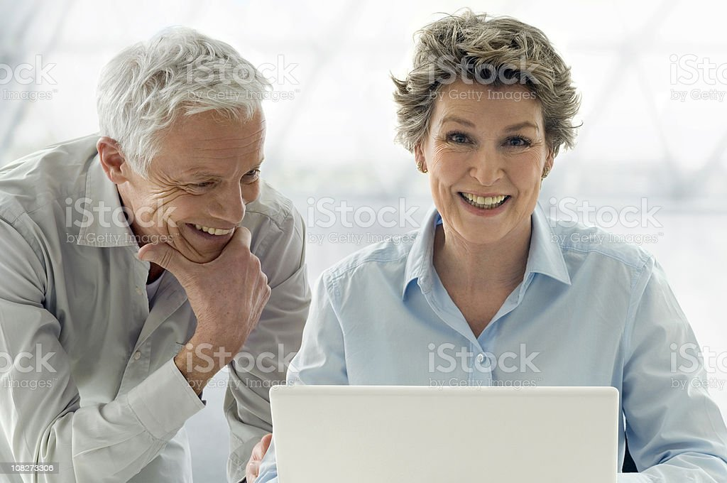 Mature Couple royalty-free stock photo