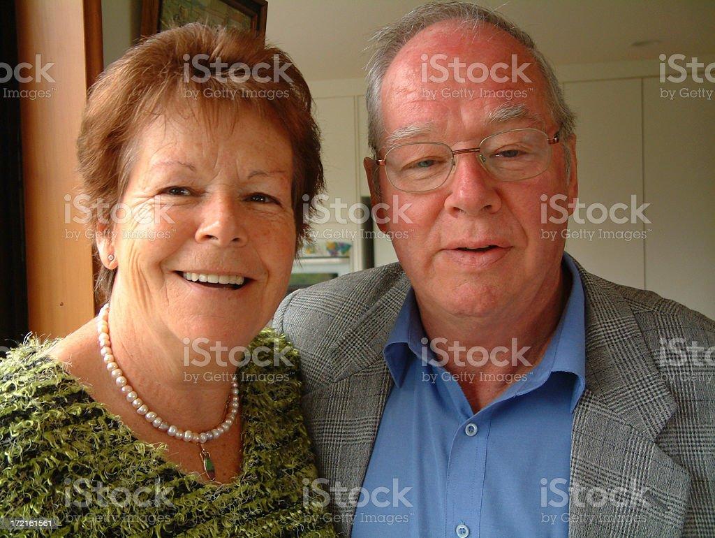 Mature Couple stock photo