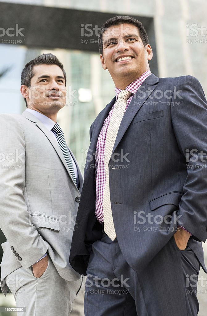 Mature Executives royalty-free stock photo