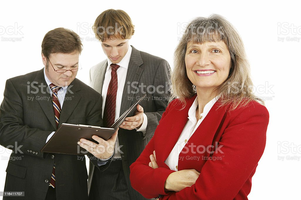 Mature Female Business Leader royalty-free stock photo