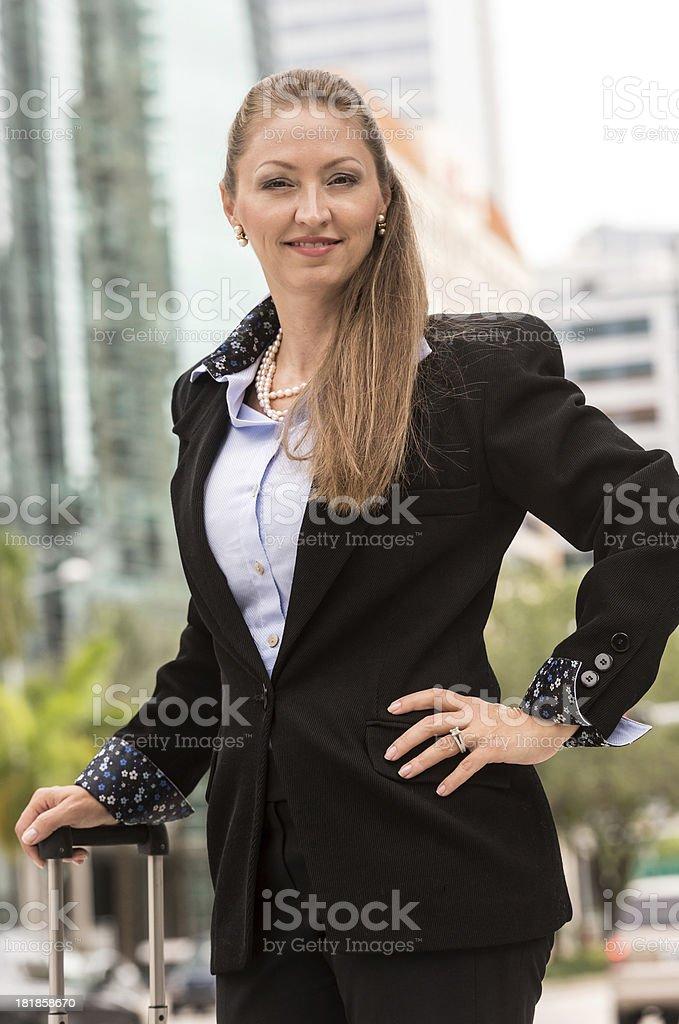 Mature female executive royalty-free stock photo