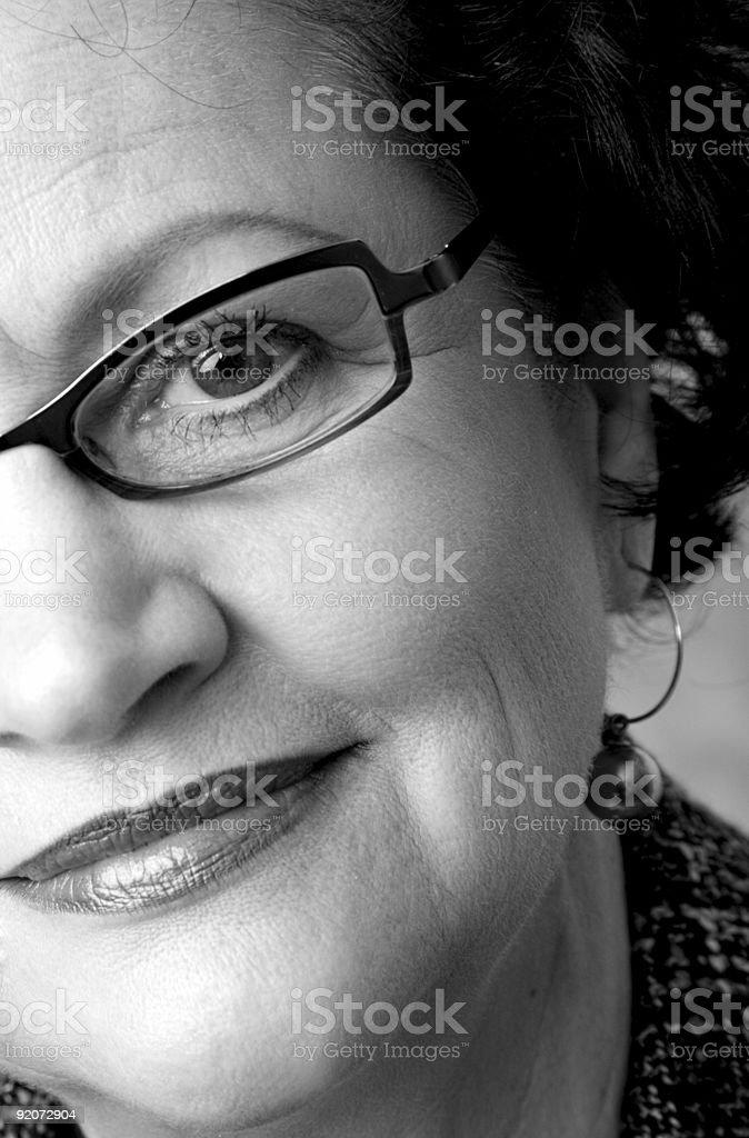 Mature Female royalty-free stock photo
