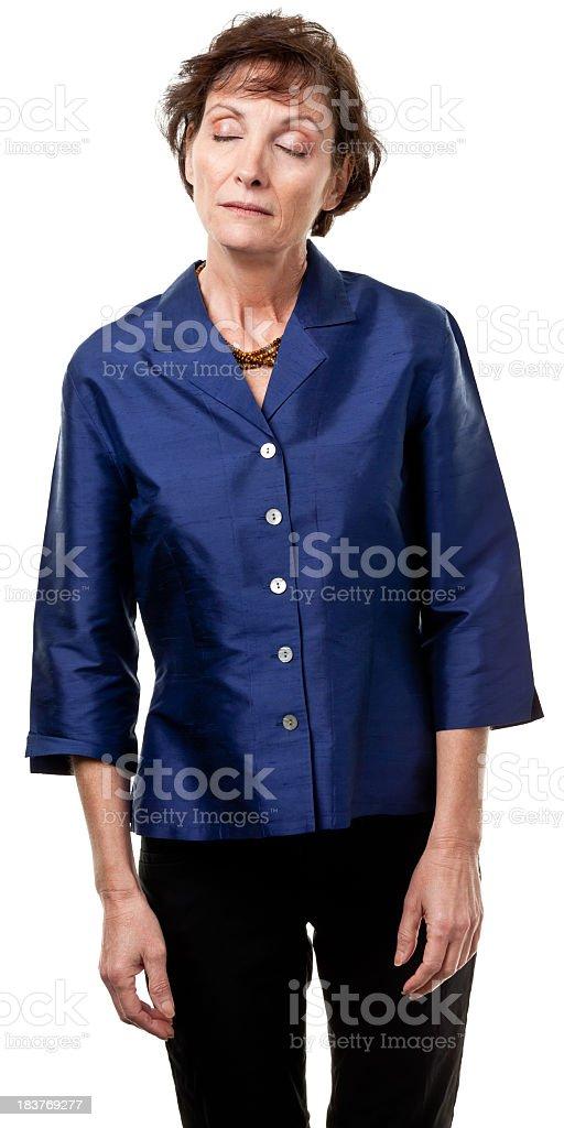Mature Female Portrait stock photo