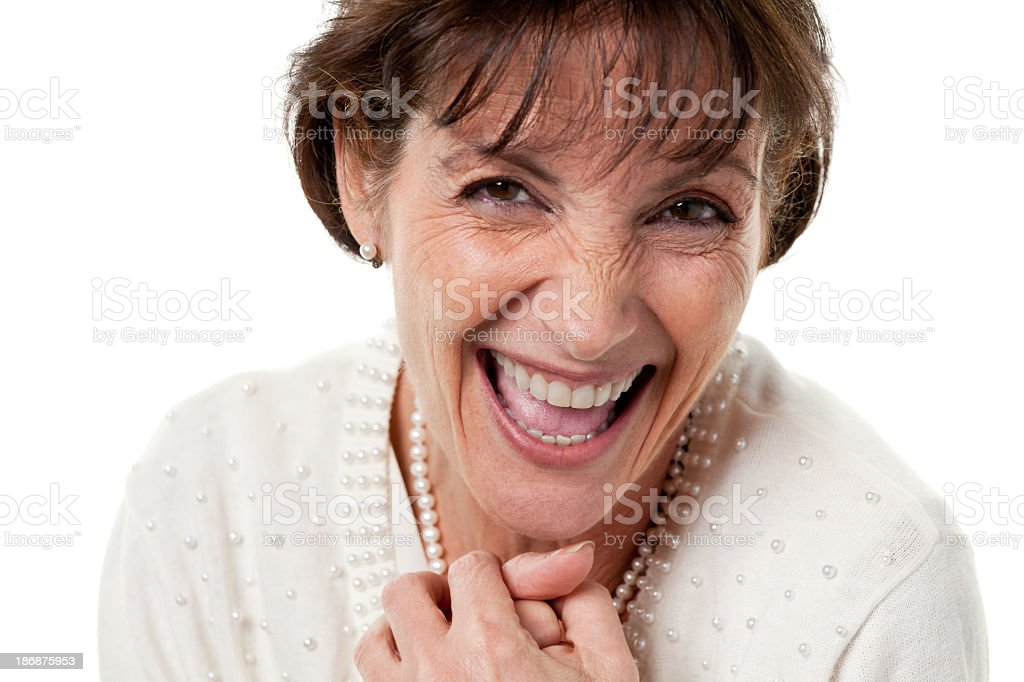 Mature Female Portrait stock photo