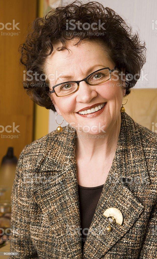 Mature Female Portrait royalty-free stock photo