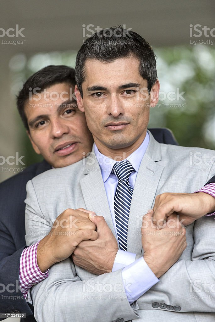 Mature Gay Businessmen royalty-free stock photo