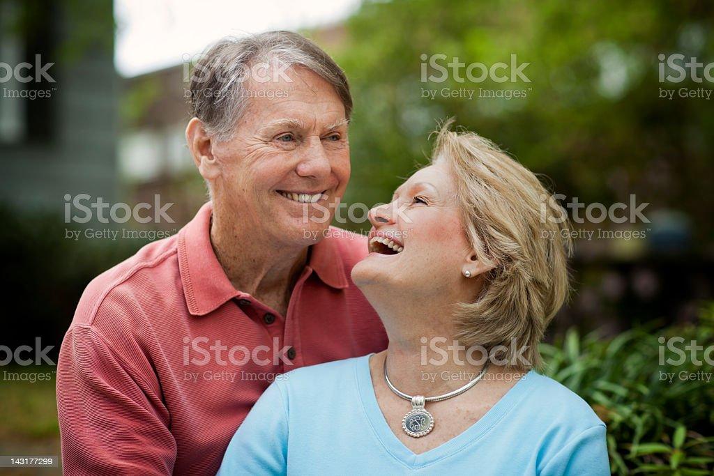 Mature Happy Couple stock photo
